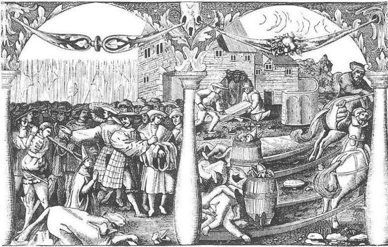 After the Stockholm massacre in 1520