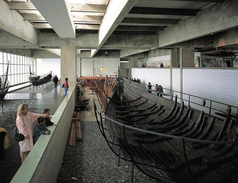 The remains of a Viking Age ship