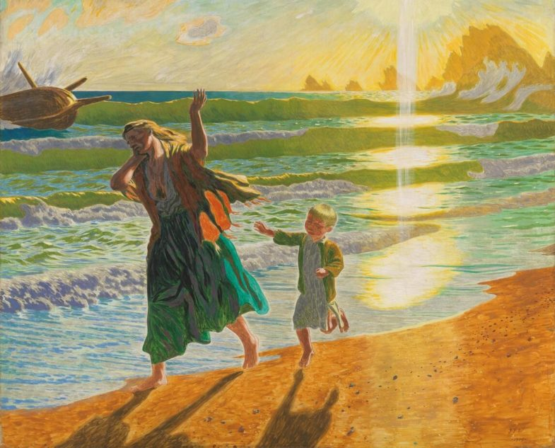 Jens F. Willumsen's light-ecstatic