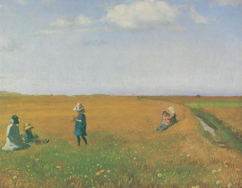 The pioneers of Nordic outdoor painting