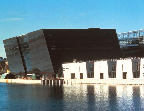 Newly built for the Royal Library in Copenhagen