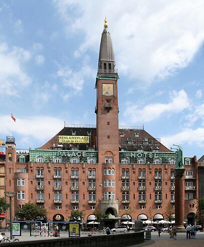 Palace Hotel in Copenhagen
