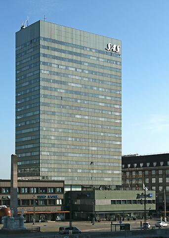 The SAS Hotel in Copenhagen