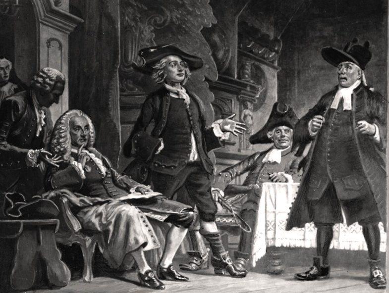 first Danish theater