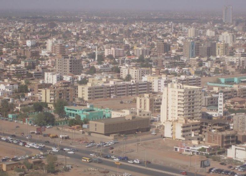 Khartoum from the air