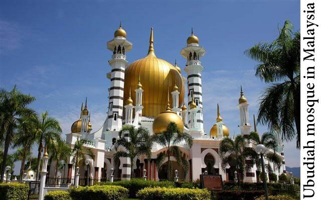 Ubudiah mosque in Malaysia