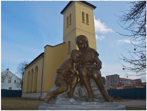 Salzburg Church in Gussew