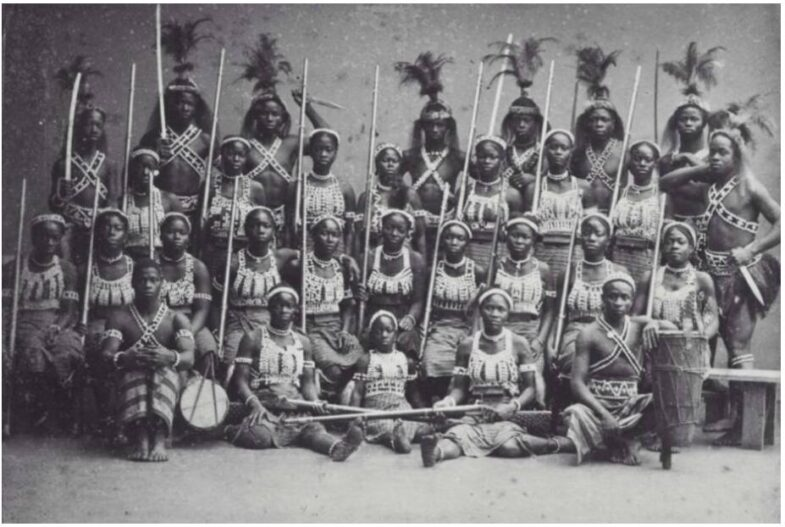 Amazons from Dahomey Benin