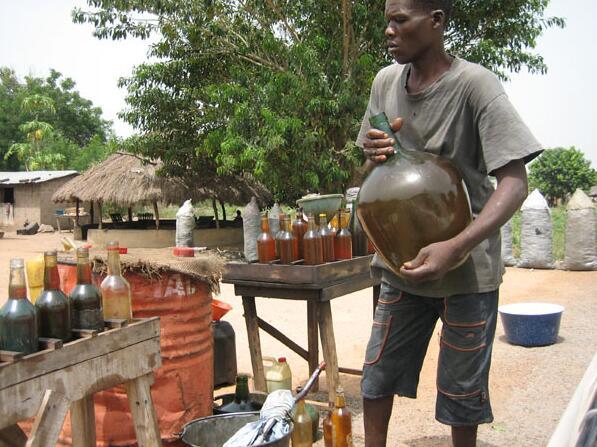 Benin Illegal gasoline sales