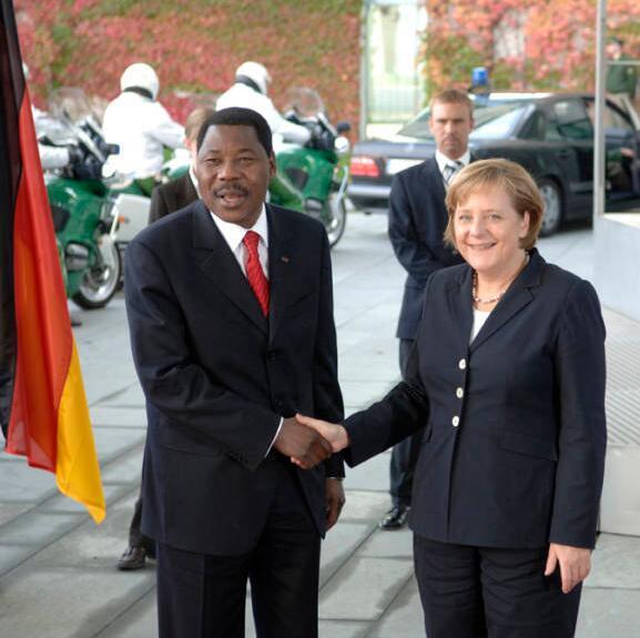 Boni Yayi in Berlin