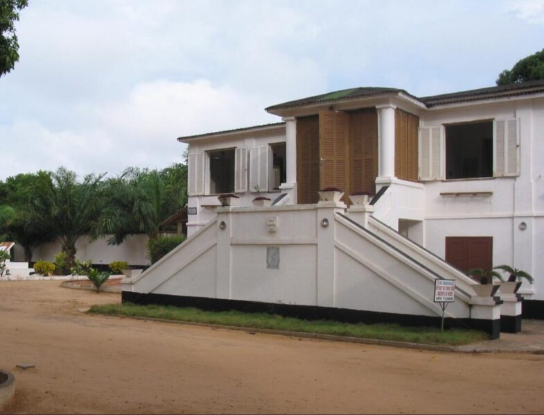 The Historical Museum in the former Portuguese fort in Ouidah Benin