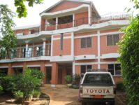 A stately home in Cotonou Benin