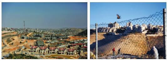 Israeli Settlements on Palestine Land