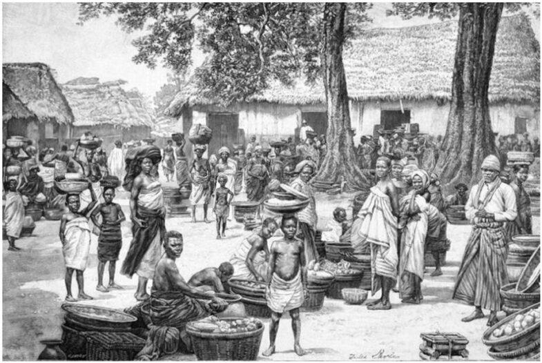 Market in Grand Popo Benin