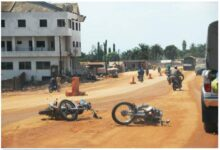 One of the frequent accidents in Benin