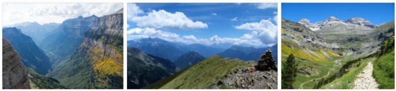 Mountain Landscape of Mont Perdu