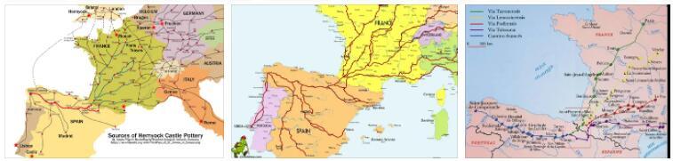 Pilgrimage Routes to Santiago de Compostela