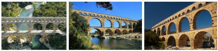 Roman Aqueduct Pont du Gard
