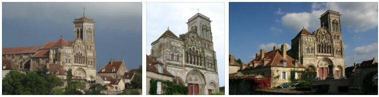 Vézelay Abbey Church and Hill